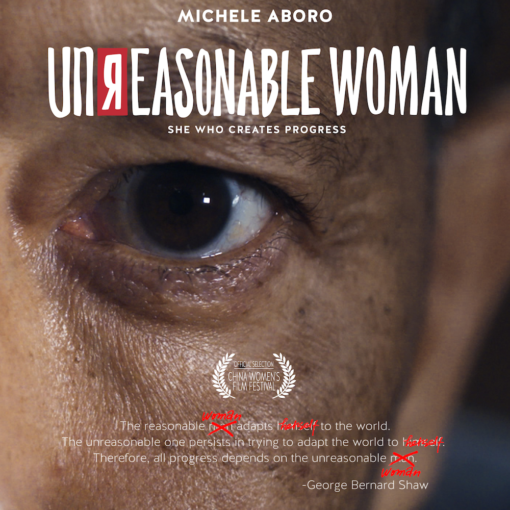 Unreasonable Woman Poster - Instagram